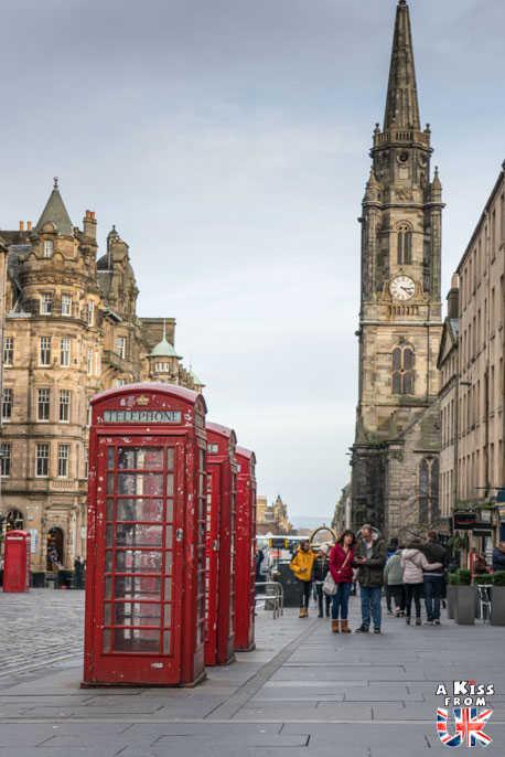 La Royal Mile d'Edimbourg - A voir absolument et à faire à Edimbourg - Visiter Edimbourg avec le guide complet d'A Kiss from UK, le blog du voyage en Ecosse.