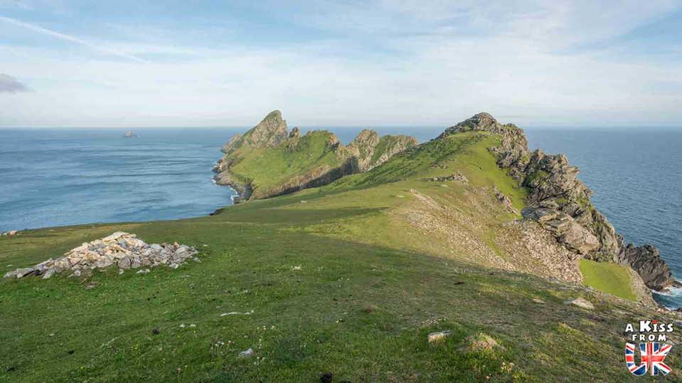 La presqu'île de Dùn sur St Kilda - Visiter St Kilda en Ecosse - Que voir sur l'île de St Kilda en Ecosse ? - A Kiss from UK, guide et blog voyage sur l'Ecosse.