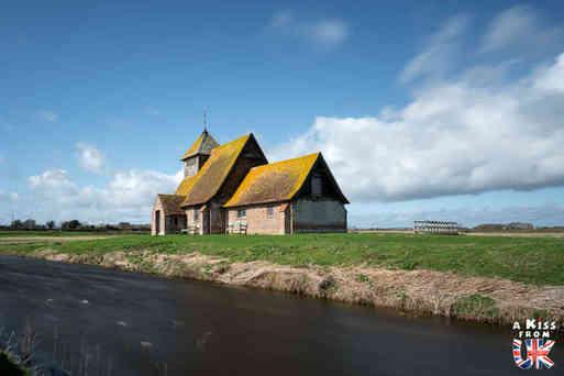 St Thomas Becket Church dans Romney Marsh - Que voir dans le Kent en Angleterre ? Visiter le Kent avec A Kiss from UK, le blog du voyage en Ecosse, Angleterre et Pays de Galles.