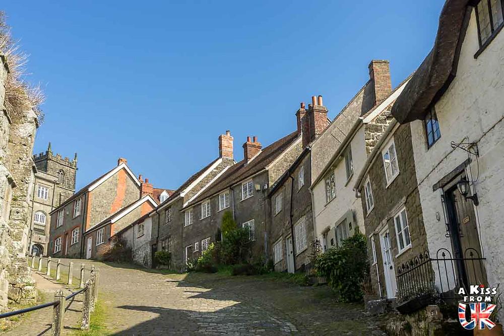 Gold Hill la rue la plus célèbre d'Angleterre grâce à la pub réalisée par Ridley Scott