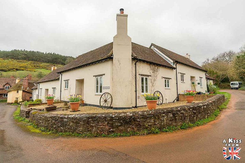 Luccombe - Que voir dans le Parc National d'Exmoor en Angleterre ? Visiter Exmoor avec A Kiss from UK, le guide & blog du voyage en Ecosse, Angleterre et Pays de Galles.