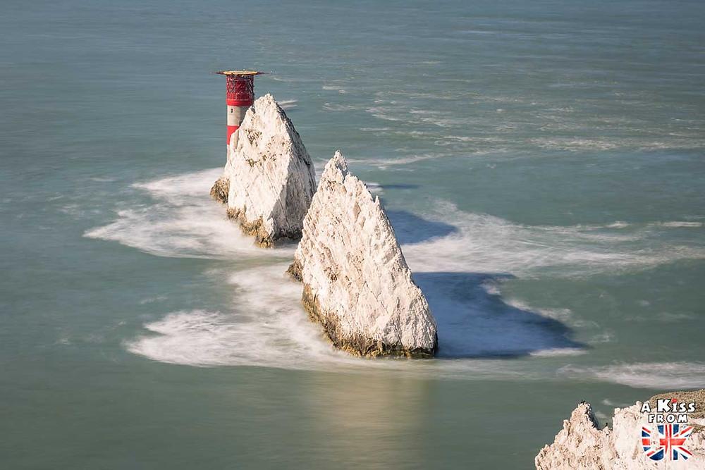 The Needles sur l'ile de Wight- 30 photos qui vont vous donner envie de voyager en Angleterre après l'épidémie de coronavirus - Découvrez les plus belles destinations et les plus belles régions d'Angleterre à visiter.