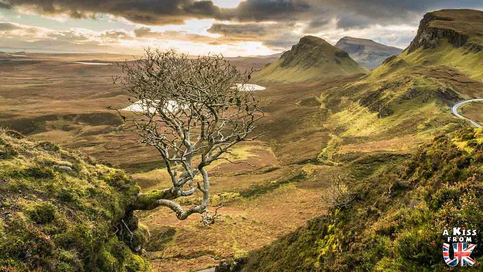 le Quiraing - Visiter l'île de Skye en 4 Jours. A voir et à faire. Lieux à voir et itinéraire de Roadtrip en Ecosse sur l'île de Skye - A Kiss from UK le guide et  blog voyage Ecosse, Angleterre et Pays de Galles