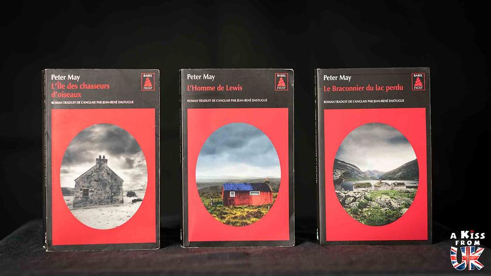 La Trilogie écossaise de Peter May - Voyager en Ecosse à travers les livres de Peter May - Présentations et avis de lecture des romans de Peter May se déroulant en Ecosse et dans les Hébrides Extérieures.