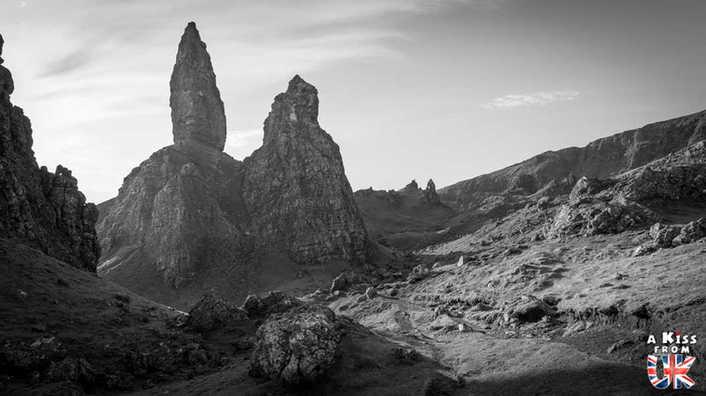 Le Old Man of Storr - Que faire et que voir sur l'île de Skye en Ecosse ? Visiter les plus beaux endroits de l'île de Skye avec notre guide complet.