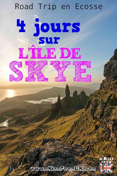 Découvrez un itinéraire de 4 jours pour découvrir la merveilleuse île de Skye. Old Man of Storr, Quiraing, Fairy Pools et bien d'autrs endroits sont au programme de ce séjour écossais.