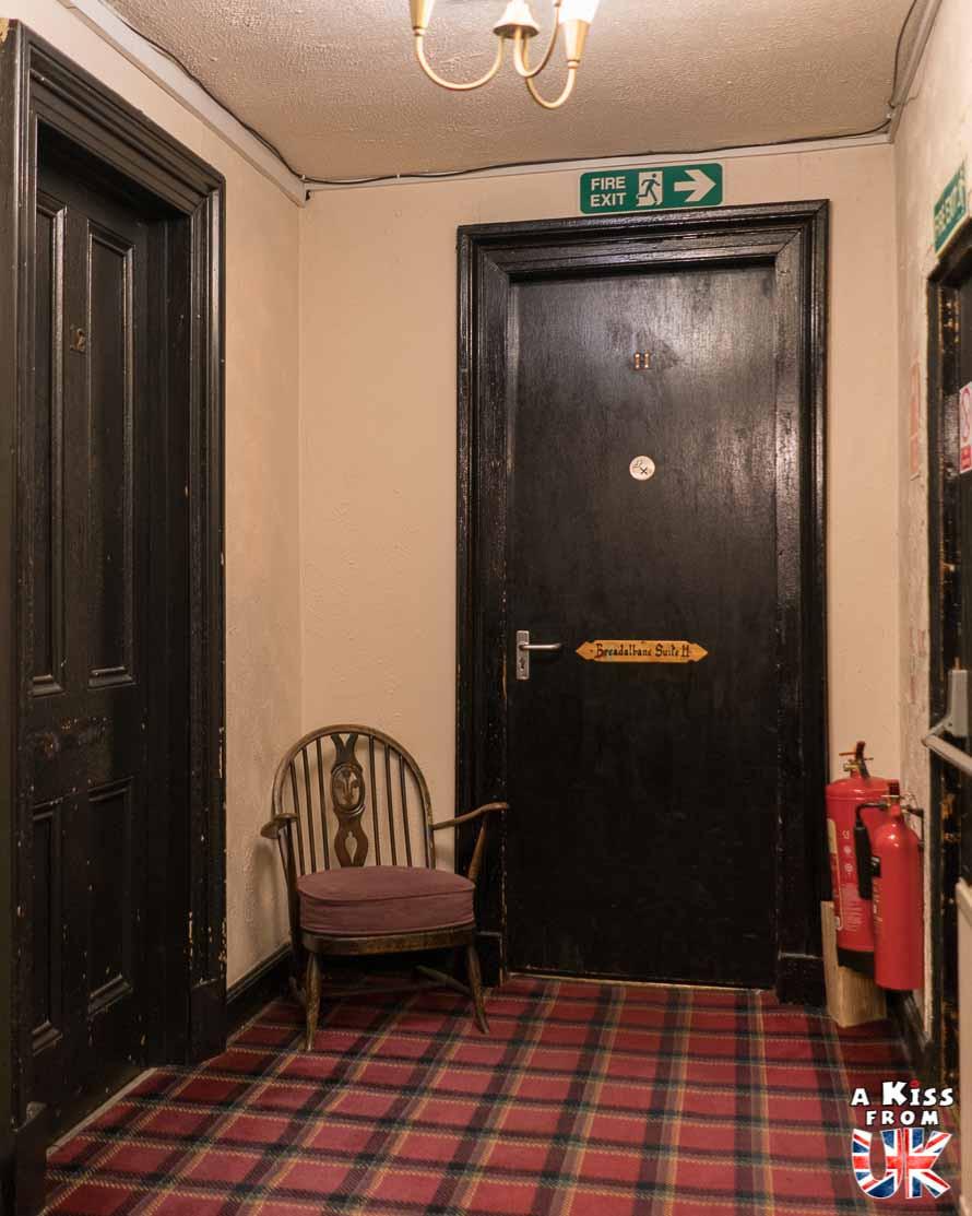 Le Drovers Inn - l'auberge la plus hantée d'Ecosse. Dormir dans un hôtel hanté en Ecosse.