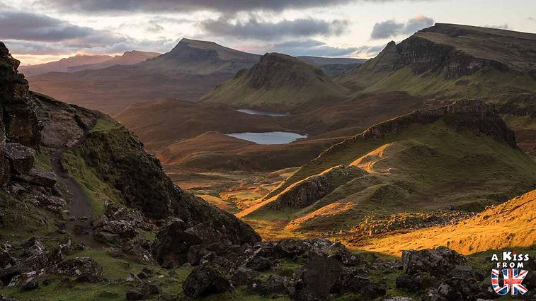 Le Quiraing sur l'île de Skye - Que faire et que voir sur l'île de Skye en Ecosse ? Visiter les plus beaux endroits de l'île de Skye avec notre guide complet.