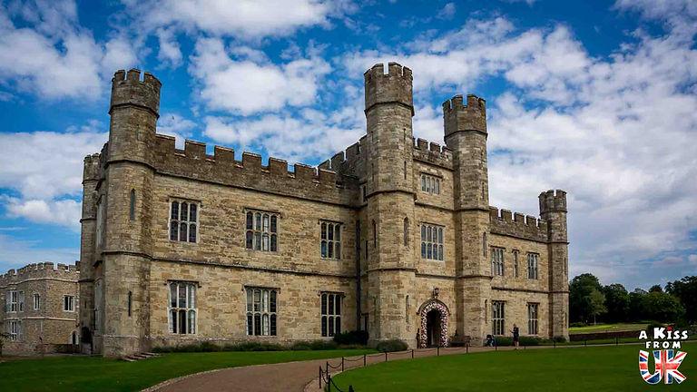 Leed's Castle dans le Kent - Week-end dans le Kent en famille - itinéraire de roadtrip dans le sud de l'Angleterre dans la région du Kent - A Kiss from UK, le guide et blog du voyage en Grande-Bretagne.