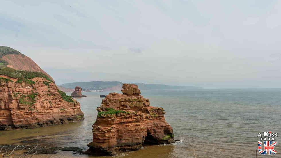 Ladram Bay - Que faire dans le Devon en Angleterre ? Visiter les plus beaux endroits à voir absolument dans le Devon avec notre guide voyage.
