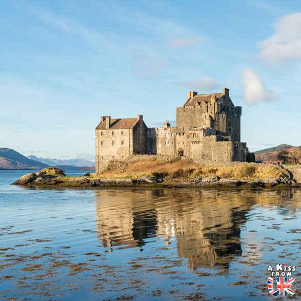 Eilean Donan Castle - Comment choisir son circuit en Ecosse ?Comment préparer son voyage en Ecosse? - A Kiss from UK, le blog du voyage en Ecosse, Angleterre et Pays de Galles.