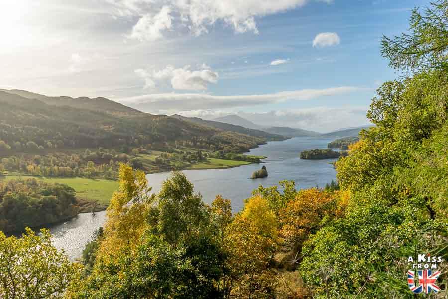Queen's View - A faire et à voir absolument dans le Perthshire en Ecosse ? Visiter le Perthshire et ses incontournables avec A Kiss from UK, le blog du voyage en Ecosse, Angleterre et Pays de Galles