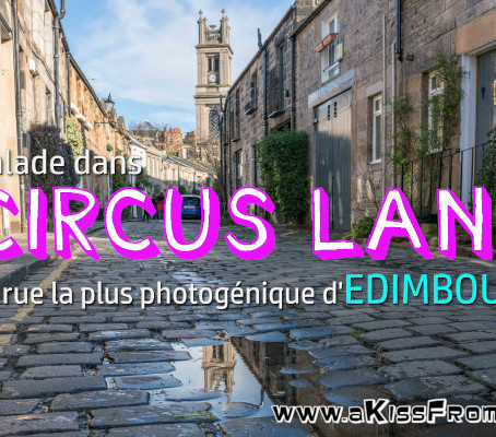 Balade à Circus Lane, la rue la plus photogénique d'Édimbourg