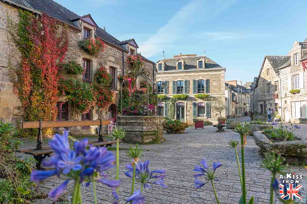 Visiter le village de Rochefort-en-Terre dans le Morbihan et se croire à Rye dans le Sussex en Angleterre | Visiter la Bretagne pour retrouver les paysages de Grande-Bretagne - Découvrez les plus beaux endroits de Bretagne et de Normandie qui font penser à l'Angleterre, à l'Ecosse ou au Pays de Galles |  A Kiss from UK - blog voyage