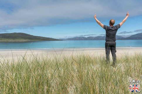Luskentyre Beach - Visiter Lewis et Harris, le guide voyage complet – les lieux à voir sur l'île de Lewis & Harris dans les Hébrides Extérieures en Ecosse - A Kiss from UK, blog voyage Ecosse.