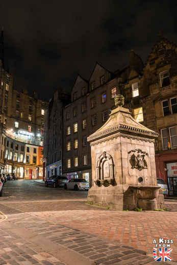 Le tour des lieux hantés d'Edimbourg avec Hi Amy ! - Ghost Tour à Edimbourg, la capitale de l'Ecosse  - A voir absolument et à faire à Edimbourg - Visiter Edimbourg avec le guide complet d'A Kiss from UK, le blog du voyage en Ecosse.