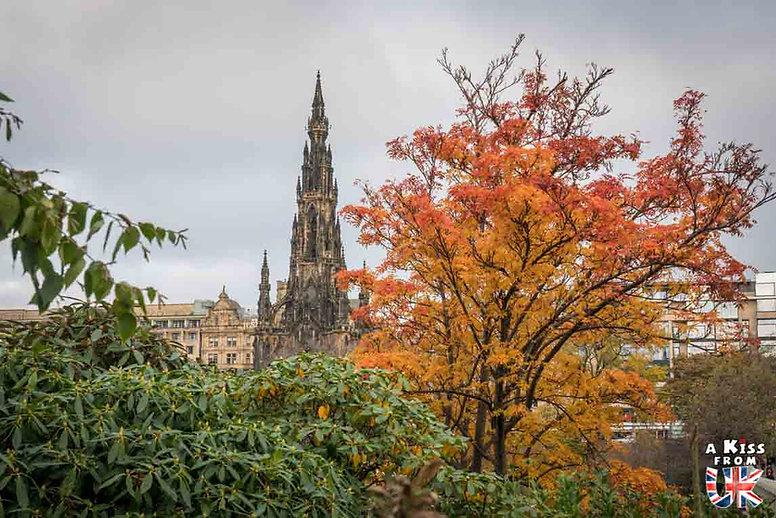 Edimbourg, première étape du Road Trip de 8 jours en Ecosse à l'automne - A Kiss from UK, guide et blog voyage sur l'Ecosse, l'Angletere et le Pays de Galles