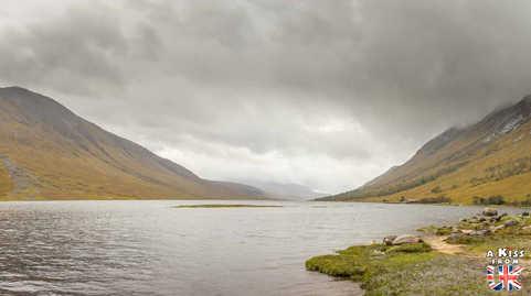 Loch Etive - A faire et à voir dans le Glencoe et sa région en Ecosse. Visiter le Glencoe avec A Kiss from UK, le guide et blog du voyage en Ecosse.