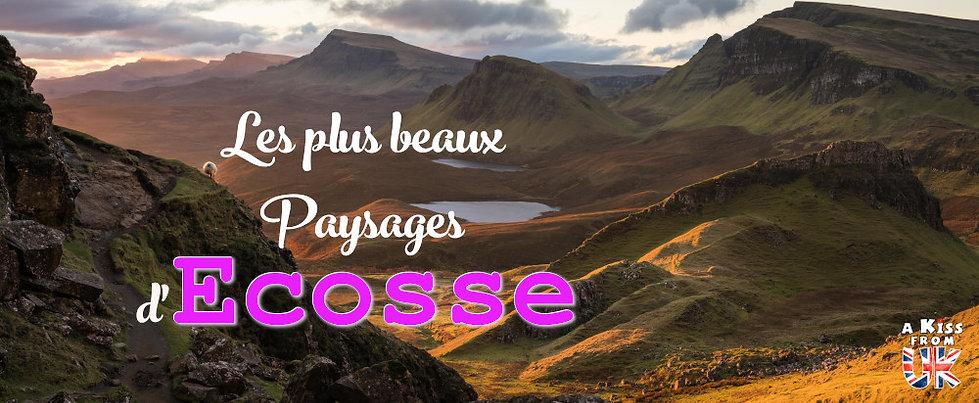 Les plus beaux paysages d'Ecosse à voir pendant votre voyage. Découvrez quels sont les plus beaux endroits d'Ecosse et les plus belles merveilles naturelles d'Ecosse avec A Kiss from UK, le guide et blog du voyage en Grande-Bretagne.