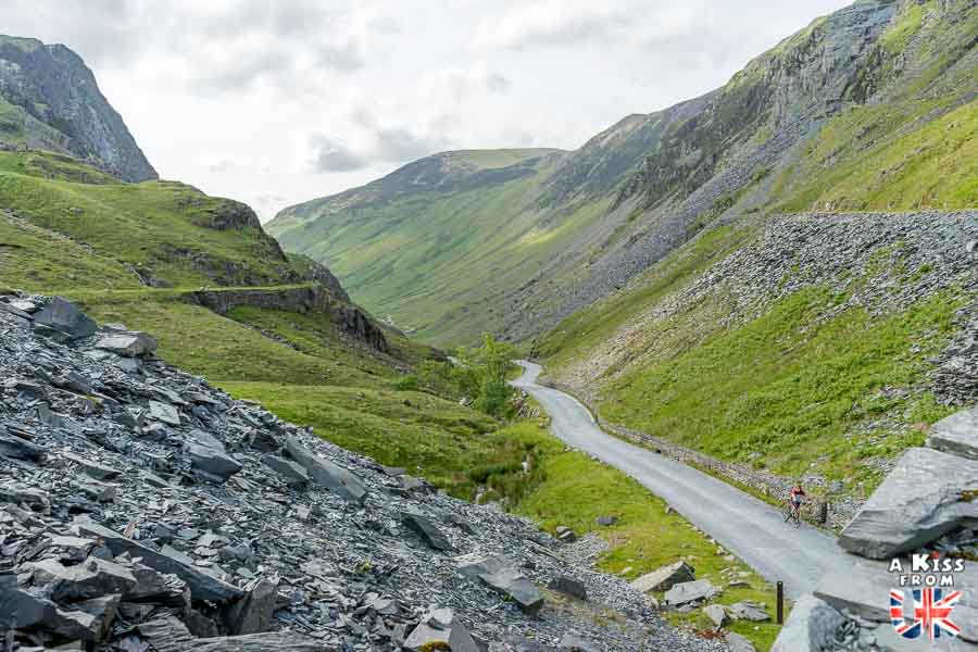 Honister Pass - Que voir absolument dans le Lake District en Angleterre ? Visiter le Lake District avec A Kiss from UK, le blog du voyage en Ecosse, Angleterre et Pays de Galles