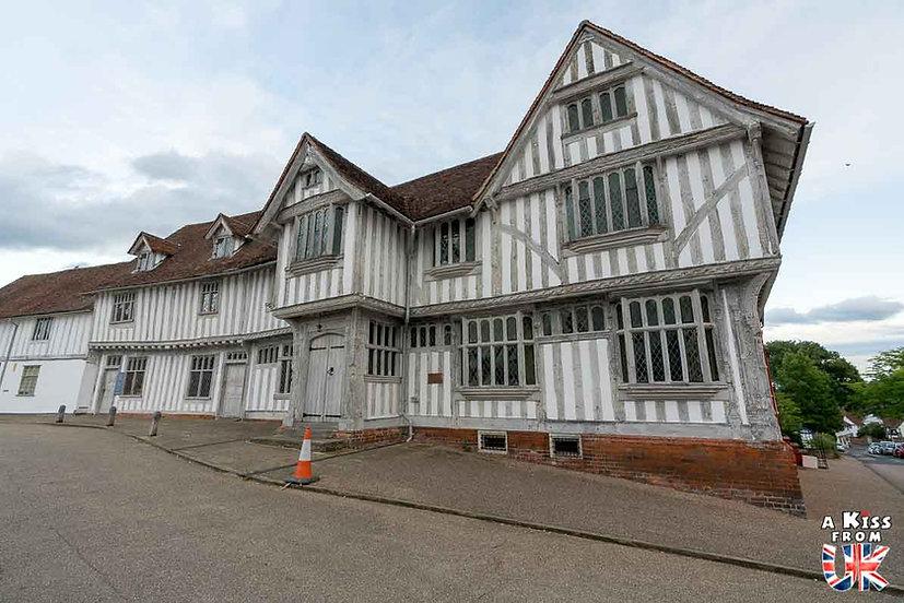 Lavenham - Que voir dans le Suffolk en Angleterre ? Visiter le Suffolk avec A Kiss from UK, le guide et blog du voyage en Angleterre.