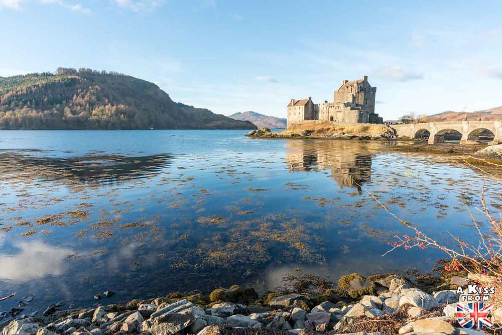 Eilean Donan Castle, la reconstruction du plus célèbre château d'Ecosse. Découvrez l'histoire du château d'Eilean Donan en Ecosse. | A Kiss From UK