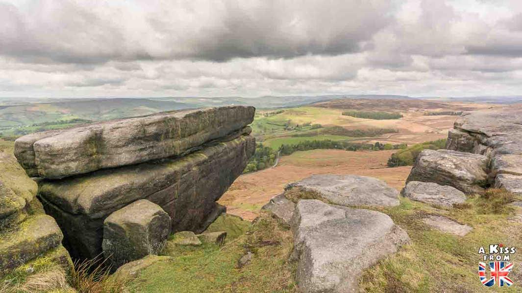 Stanage Edge et Bamford Edge - A faire et à voir dans le Peak District en Angleterre. Visiter les plus beaux endroits du Peak District avec notre guide complet.