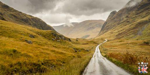 Le Glen Etive - Les 15 plus belles routes d'Ecosse - road trip en Ecosse - A Kiss from UK, le guide & blog du voyage en Ecosse, Angleterre et Pays de Galles