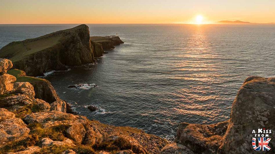 Neist Point sur l'île de Skye - Les plus beaux paysages d'Ecosse. Découvrez quels sont les plus beaux endroits d'Ecosse et les plus belles merveilles naturelles d'Ecosse avec A Kiss from UK, le guide et blog du voyage en Grande-Bretagne.