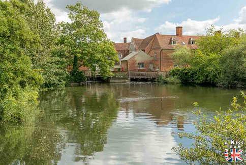 Flatford - Que voir dans le suffolk en Angleterre ? Visiter le Suffolk avec A Kiss from UK, le guide et blog du voyage en Ecosse, l'Angleterre et Pays de Galles.