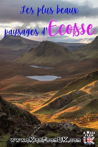 Les plus beaux paysages d'Ecosse | Découvrez les 10 plus beaux paysages d'Ecosse ! Cesmerveilles naturelles sont des incontournables à visiter absolument lors de votre voyage en Ecosse ! Paysages côtiers, montagneux ou lochs mystérieux, ne manquez pas notre classement des plus beaux paysages d'Ecosse !