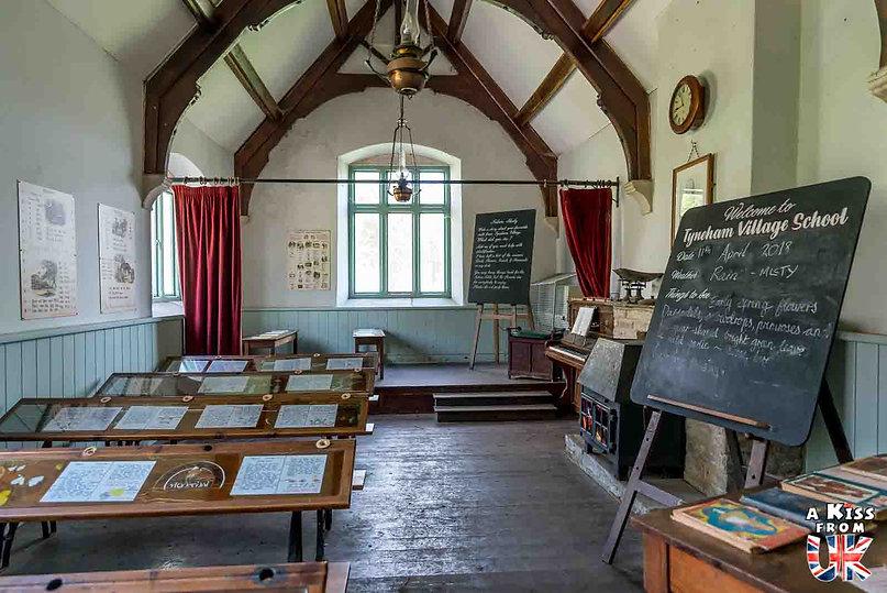 Tyneham dans le Dorset - Visiter l'Angleterre : les incontournables ! - 25 endroits à voir absolument en Angleterre en dehors de Londres - A Kiss from UK, le guide et blog du voyage en Grande-Bretagne.