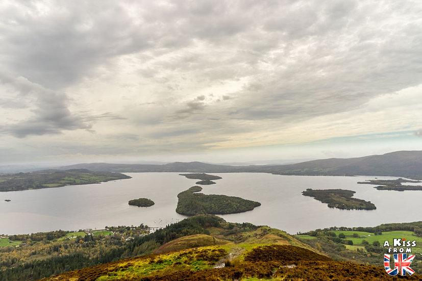 Conic Hill - A voir et à faire dans le Loch Lomond et les Trossachs en Ecosse. Visiter le Parc National du Loch Lomond et des Trossachs avec notre guide complet. A Kiss from UK, le blog du voyage en Ecosse.