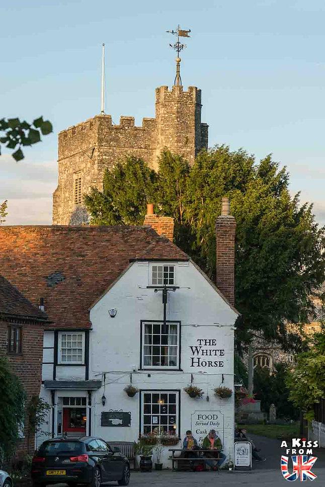 Le village de Chilham dans le Kent - Découvrez les 30 plus beaux villages de Grande-Bretagne. Le classement des plus beaux villages d'Angleterre, d'Ecosse et du Pays de Galles par A Kiss from UK