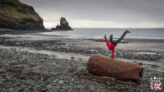 Talisker Bay - Que faire et que voir sur l'île de Skye en Ecosse ? Visiter les plus beaux endroits de l'île de Skye avec notre guide complet.