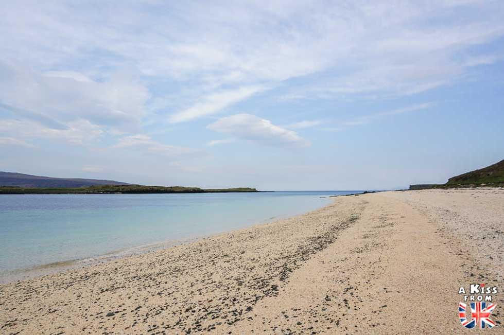 Coral Beach - Visiter l'île de Skye en 4 Jours. A voir et à faire. Lieux à voir et itinéraire de Roadtrip en Ecosse sur l'île de Skye - A Kiss from UK le guide et  blog voyage Ecosse, Angleterre et Pays de Galles