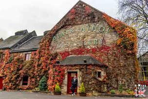 La distillerie Blair Atholl - Roadtrip de 8 jours en Ecosse à l'automne - Itinéraire de voyage en Ecosse par A Kiss from UK, guide et blog voyage sur l'Ecosse, l'Angletere et le Pays de Galles
