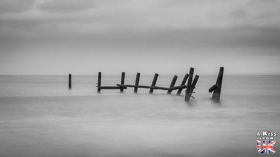 La plage d'Happisburgh - Que faire dans le Norfolk en Angleterre ? Visiter les plus beaux endroits à voir dans le Norfolk avec notre guide complet sur cette région d'Angleterre.