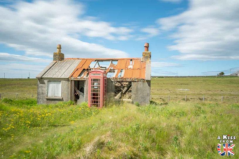 Les maisons abandonnées sur Lewis et Harris en Ecosse - Les plus belles ruines de Grande-Bretagne. Découvrez quels sont les plus beaux lieux abandonnés d'Angleterre, d'Ecosse et du Pays de Galles avec A Kiss from UK.