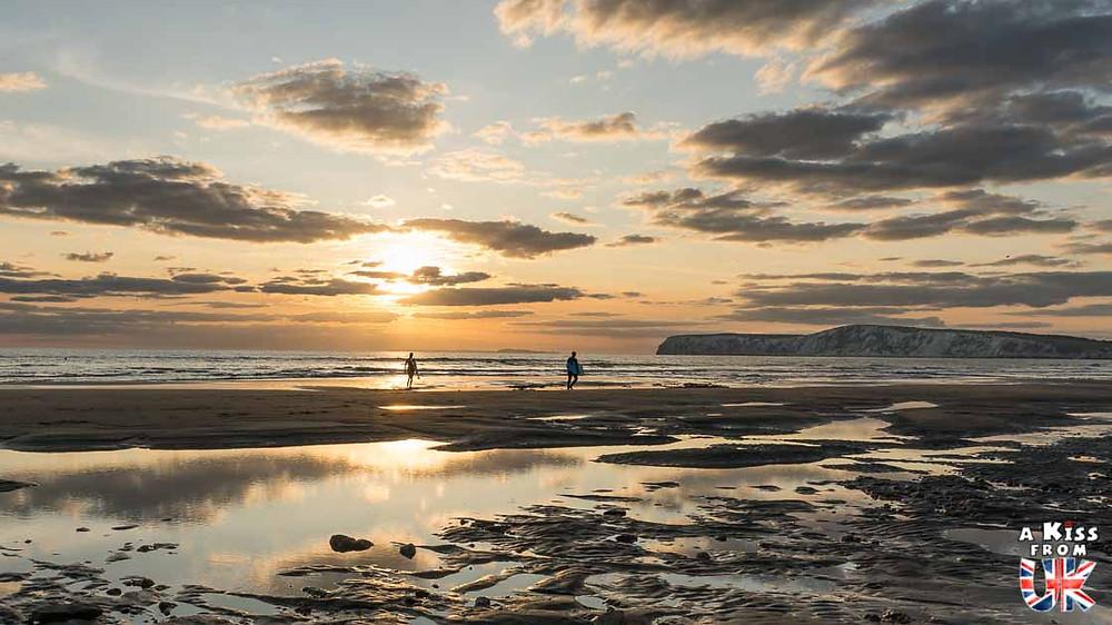 Campton Beach sur l'île de Wight - 30 photos qui vont vous donner envie de voyager en Angleterre après l'épidémie de coronavirus - Découvrez les plus belles destinations et les plus belles régions d'Angleterre à visiter.