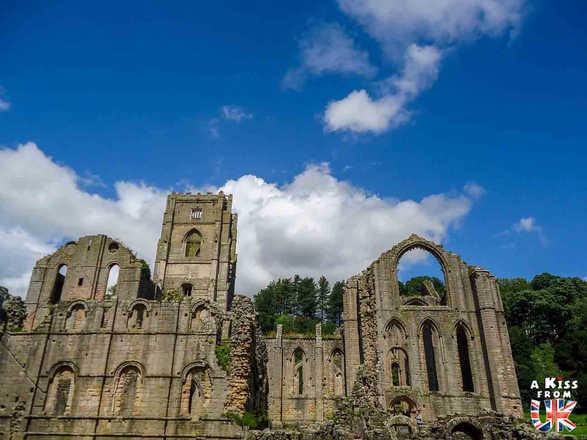 Fountains Abbey - Les plus belles ruines de Grande-Bretagne - A Kiss from UK, le blog du voyage en Ecosse, Angletere et Pays de Galles.