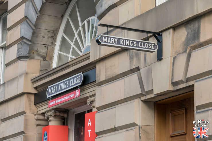 Mary King's Close - A voir absolument et à faire à Edimbourg - Visiter Edimbourg avec le guide complet d'A Kiss from UK, le blog du voyage en Ecosse.