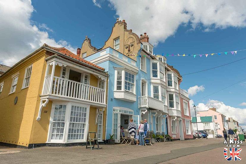 Aldeburgh - Que voir dans le Suffolk en Angleterre ? Visiter le Suffolk avec A Kiss from UK, le guide et blog du voyage en Angleterre.