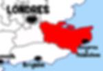 carte kent - Que voir dans le Kent en Angleterre ? Visiter le Kent avec A Kiss from UK, le blog du voyage en Ecosse, Angleterre et Pays de Galles.