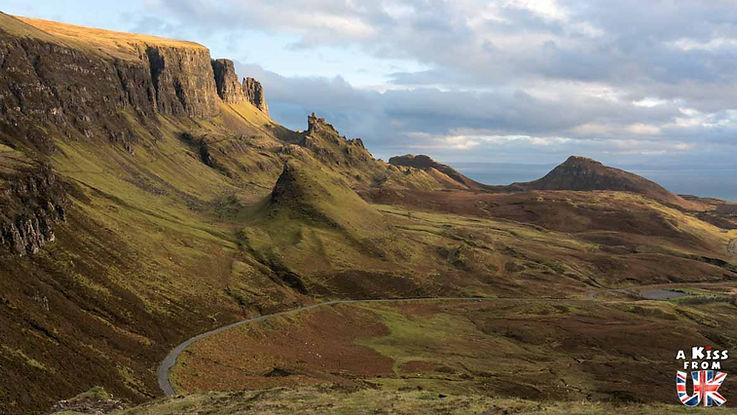 Le nord de la péninsule de Trotternish sur l'île de Skye - Les 15 plus belles routes d'Ecosse - road trip en Ecosse - A Kiss from UK, le guide & blog du voyage en Ecosse, Angleterre et Pays de Galles