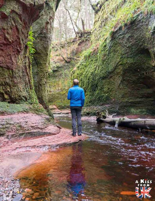 The Devil's Pulpit et le Finnich Glen, les lieux de tournage d'Outlander en Ecosse - A voir et à faire dans le Loch Lomond et les Trossachs en Ecosse. Visiter le Parc National du Loch Lomond et des Trossachs avec notre guide complet sur cette région écossaise.
