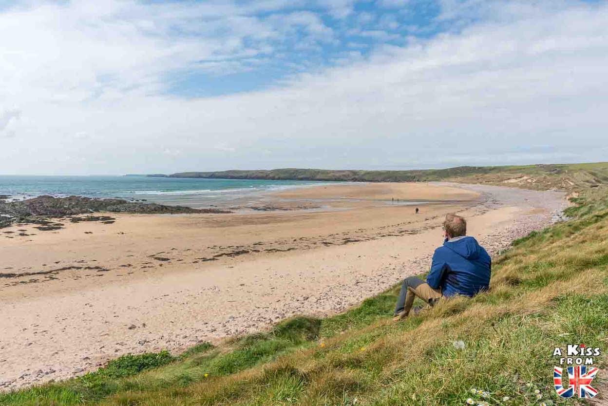 Freshwater West - Que voir dans le Pembrokeshire au Pays de Galles ? Visiter le Pembrokeshire avec A Kiss from UK, guide & blog voyage sur l'Ecosse, l'Angleterre et le Pays de Galles.