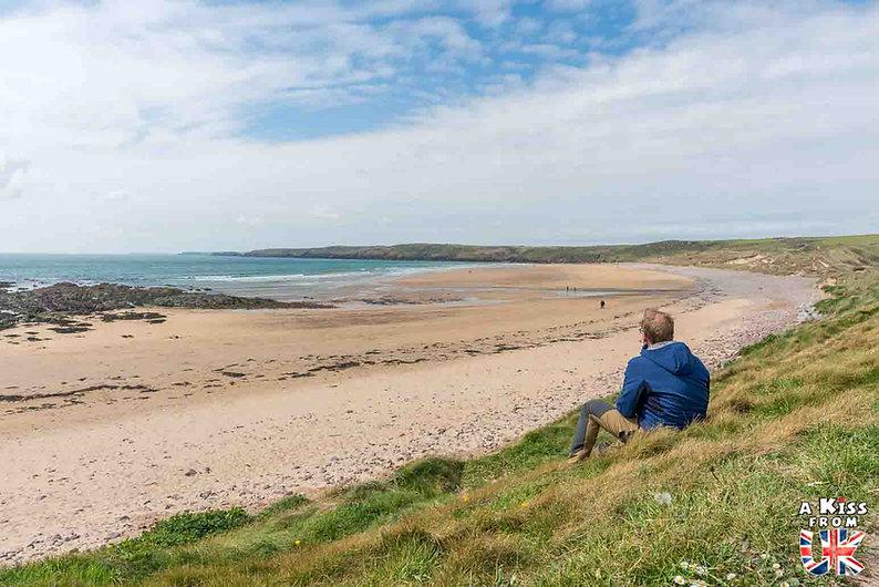 Freshwater West dans le Pembrokeshire - Que voir dans le Pembrokeshire au Pays de Galles ? Visiter le Pembrokeshire avec A Kiss from UK, le guide et blog voyage en Grande-Bretagne.