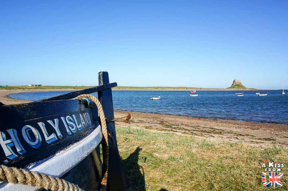 Lindisfarne harbour  - Lindisfarne et la première invasion viking de l'Histoire en 793