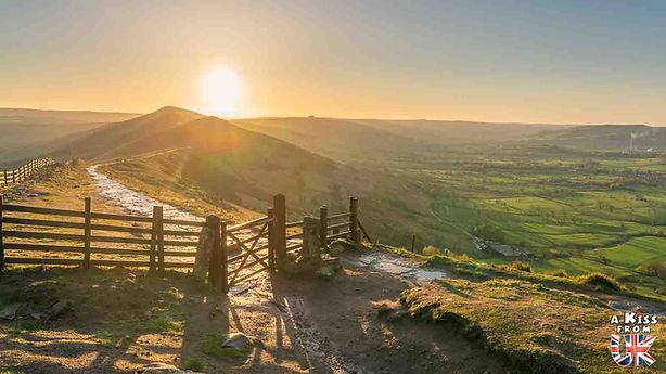 Le Peak District. Les régions du centre de l'Angleterre à visiter. Voyagez à travers les plus belles régions d'Angleterre avec nos guides voyage et préparez votre séjour dans les endroits incontournables d'Angleterre | A Kiss from UK